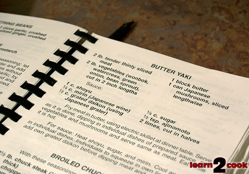 Butter Yaki Recipe