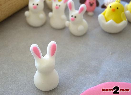 Fondant Easter Figures - Bunny Ears