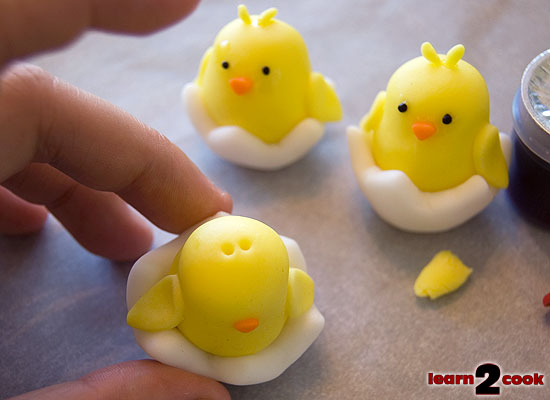 Fondant Easter Figures - Chick