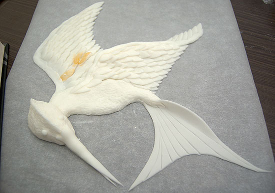 Mockingjay with Tail