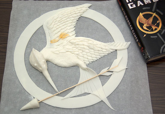 Mockingjay with Book