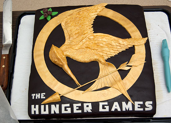 Hunger Games Cake