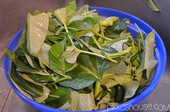 Chopped Ong Choi