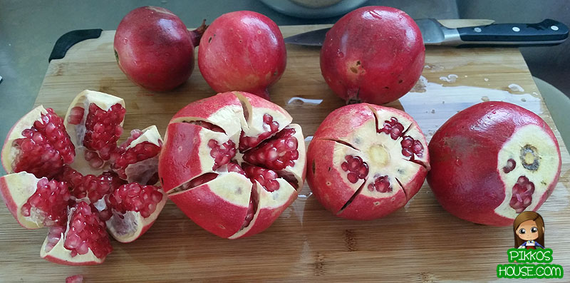 Homemade Pomegranate Juice