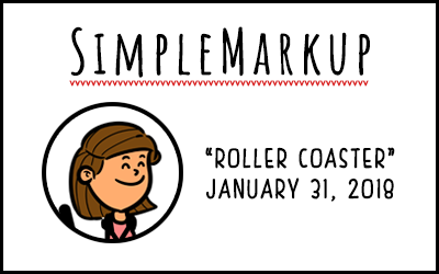 SimpleMarkup #21 – Roller Coaster