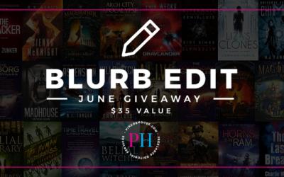 Pikko's House June 2018 Blurb Edit Giveaway