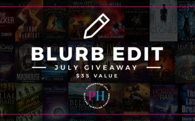 Pikko's House July 2018 Blurb Edit Giveaway