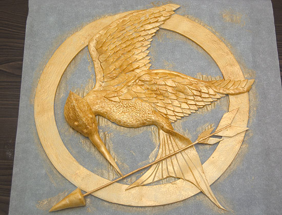 Painted Mockingjay
