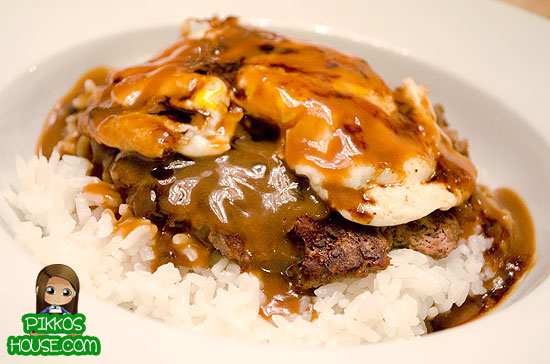 Simple Homemade Loco Moco
