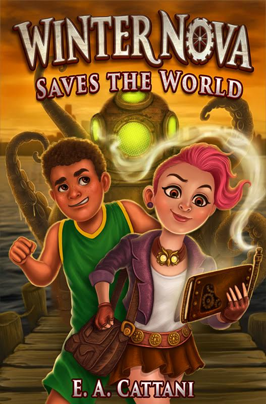 Winter Nova Saves the World by E.A. Cattani