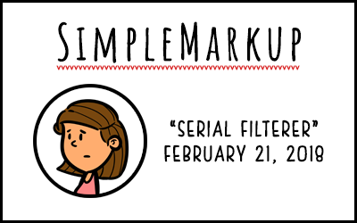 SimpleMarkup #24 – Serial Filterer