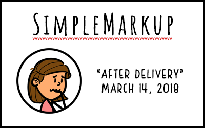 SimpleMarkup #27 – After Delivery