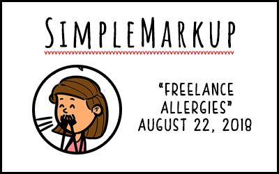 SimpleMarkup #50 – Freelance Allergies