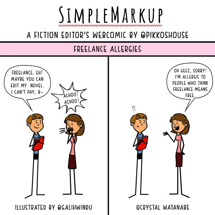 SimpleMarkup #50 - Freelance Allergies