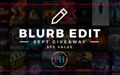Pikko's House September 2018 Blurb Edit Giveaway
